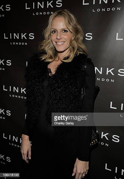 Actress Monet Mazur attends Tracy Paul Company presents Cat Deeley for Links of London's AW 2010 Launch on October 28 2010 in Los Angeles California