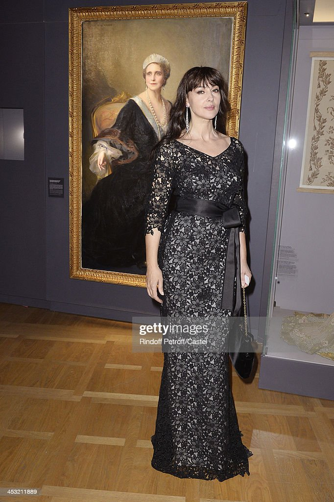 Actress Monica Bellucci attends the 'Cartier: Le Style et L'Histoire' Exhibition Private Opening at Le Grand Palais on December 2, 2013 in Paris, France.