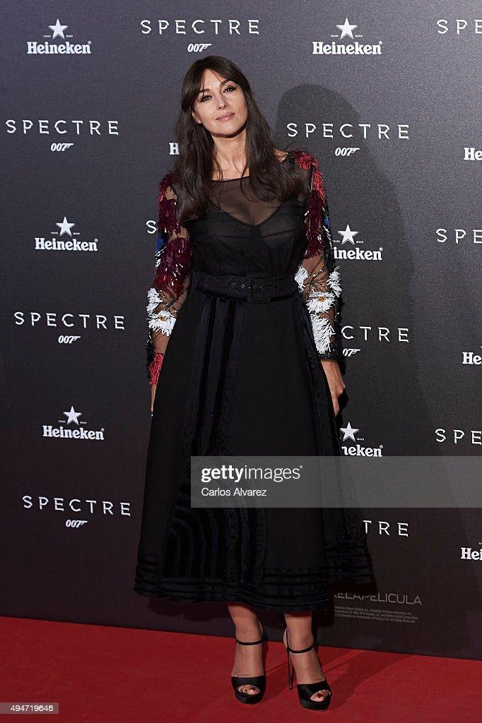 'Spectre' Madrid Premiere