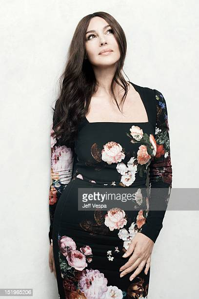 Actress Monica Bellucci is photographed at the Toronto Film Festival for Self Assignment on September 12 2012 in Toronto Ontario