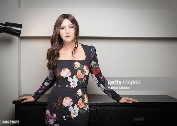Actress Monica Bellucci is photographed for Self Assignment on September 12 2012 in Toronto Ontario
