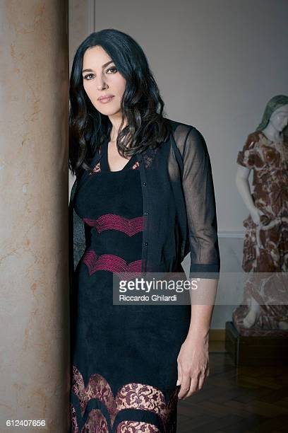 Actress Monica Bellucci is photographed for Self Assignment on September 9 2016 in Venice Italy