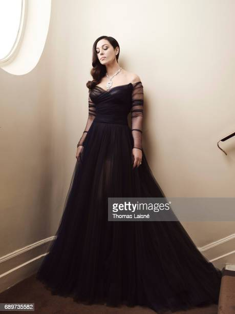 Actress Monica Bellucci is photographed for Self Assignment on May 17 2017 in Cannes France