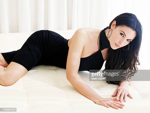 Actress Monica Bellucci is photographed for Vanity Fair Magazine on August 1 2003 in Los Angeles California