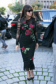 Actress Monica Bellucci is seen on October 28 2015 in Madrid Spain
