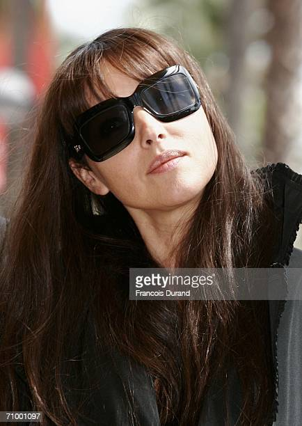 Actress Monica Belluci poses at a photocall promoting the movie 'Le Deuxieme Souffle' during the 59th International Cannes Film Festival on May 21...