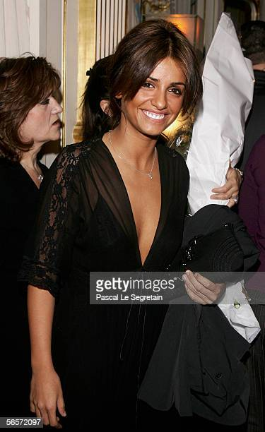 Actress Monica Cruz attends her sister Penelope Cruz's awarded ceremony for the Knight of the Arts and Letter presented by French Culture Minister on...
