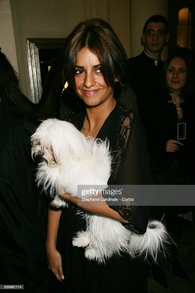 Actress Monica Cruz.