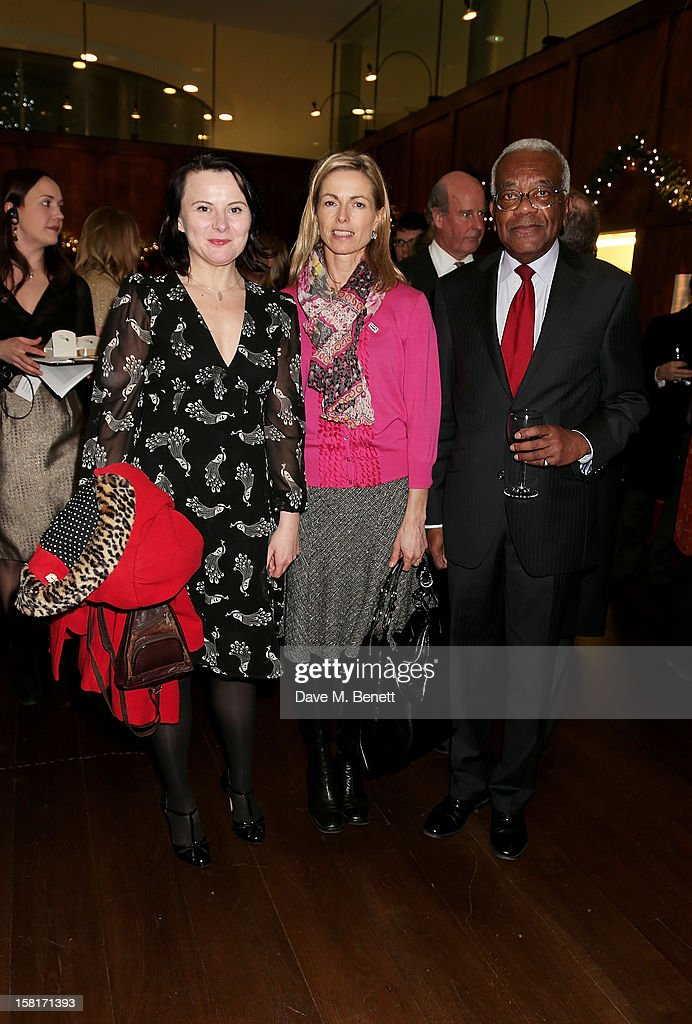 Actress Monica Dolan, <a gi-track='captionPersonalityLinkClicked' href=/galleries/search?phrase=Kate+McCann&family=editorial&specificpeople=4278082 ng-click='$event.stopPropagation()'>Kate McCann</a>, mother of Madeleine McCann, and Sir <a gi-track='captionPersonalityLinkClicked' href=/galleries/search?phrase=Trevor+McDonald&family=editorial&specificpeople=210872 ng-click='$event.stopPropagation()'>Trevor McDonald</a> attend the Missing People Carol Service at St-Martin-In-The-Fields, Trafalgar Square, on December 10, 2012 in London, England.