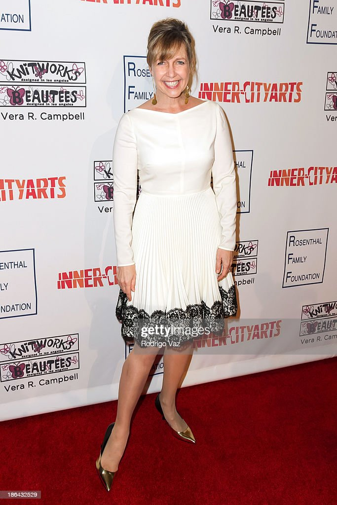 Actress Monica Horan Rosenthal attends the Inner-City Arts Imagine Gala at The Beverly Hilton Hotel on October 30, 2013 in Beverly Hills, California.