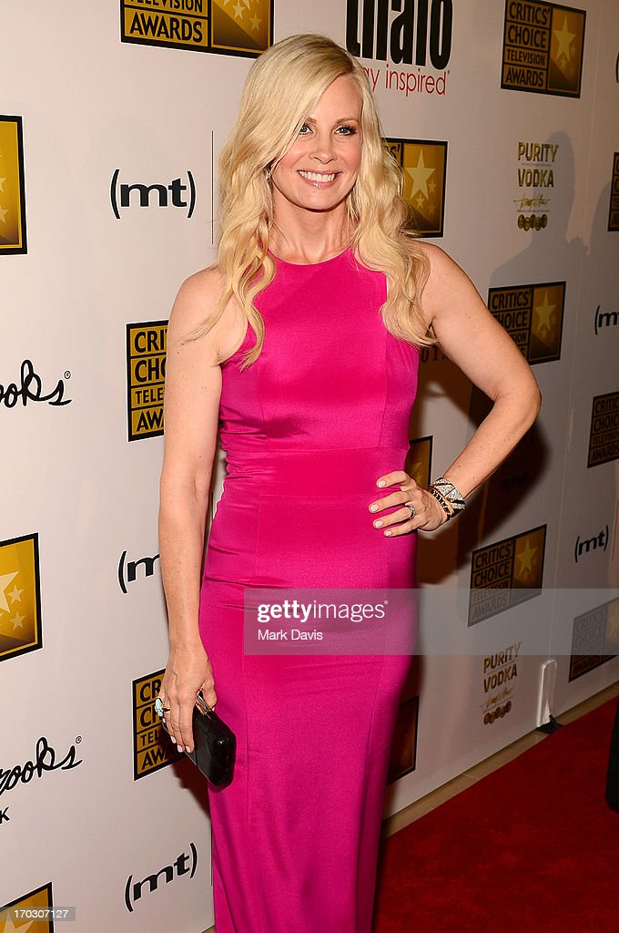 Actress Monica Potter arrives at Broadcast Television Journalists Association's third annual Critics' Choice Television Awards at The Beverly Hilton Hotel on June 10, 2013 in Los Angeles, California.
