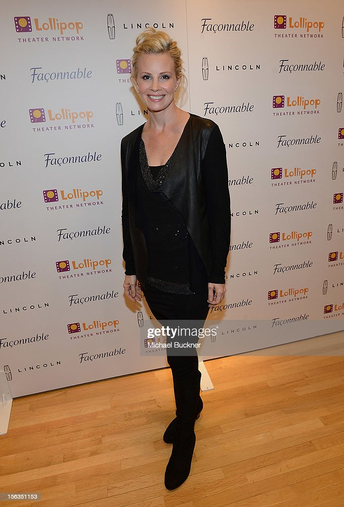 Actress Monica Potter attend the Faconnable Kicks Off The Holidays Shopping Event Benefitting Lollipop Theater Network at Faconnable on November 13, 2012 in Beverly Hills, California.
