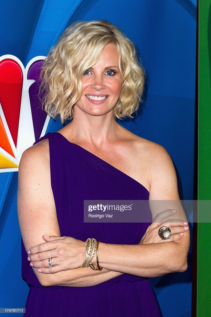 Actress <a gi-track='captionPersonalityLinkClicked' href=/galleries/search?phrase=Monica+Potter&family=editorial&specificpeople=2086196 ng-click='$event.stopPropagation()'>Monica Potter</a> attends the 2013 Television Critic Association's Summer Press Tour - NBC Party at The Beverly Hilton Hotel on July 27, 2013 in Beverly Hills, California.
