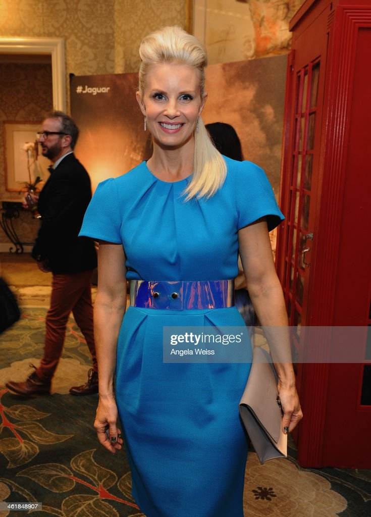 Actress <a gi-track='captionPersonalityLinkClicked' href=/galleries/search?phrase=Monica+Potter&family=editorial&specificpeople=2086196 ng-click='$event.stopPropagation()'>Monica Potter</a> attends the 2014 BAFTA Los Angeles Awards Season Tea Party presented by Jaguar Land Rover and Mulberry at the Four Seasons Hotel Los Angeles at Beverly Hills on January 11, 2014 in Los Angeles, California.