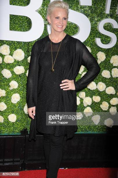 Actress Monica Potter attends the 2017 Summer TCA Tour CBS Television Studios' Summer Soiree at CBS Studios Radford on August 1 2017 in Studio City...