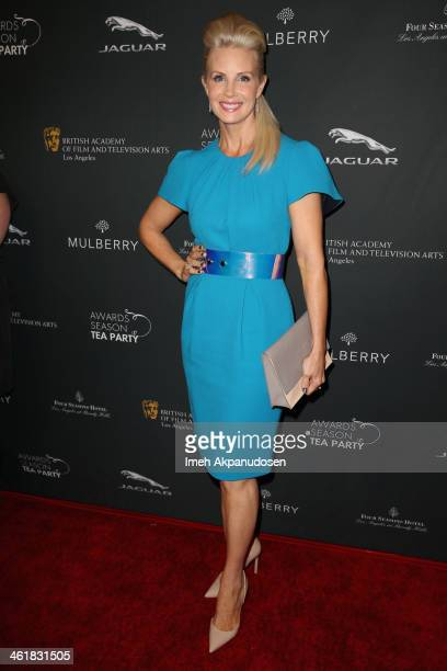 Actress Monica Potter attends the BAFTA LA 2014 Awards Season Tea Party at the Four Seasons Hotel Los Angeles at Beverly Hills on January 11 2014 in...