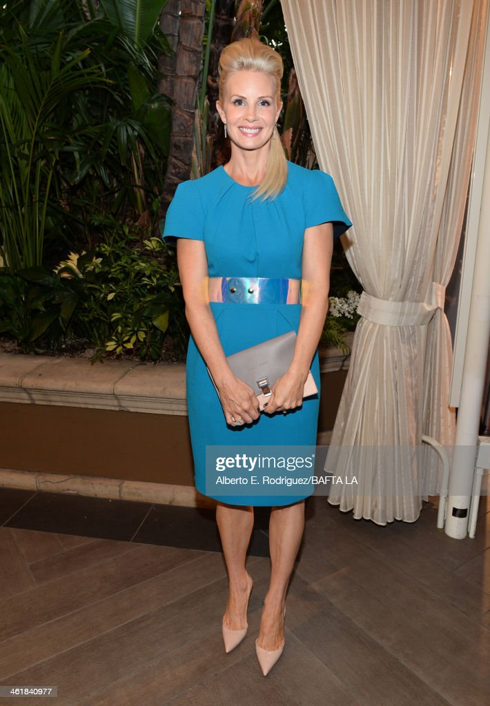Actress <a gi-track='captionPersonalityLinkClicked' href=/galleries/search?phrase=Monica+Potter&family=editorial&specificpeople=2086196 ng-click='$event.stopPropagation()'>Monica Potter</a> attends the BAFTA LA 2014 Awards Season Tea Party at the Four Seasons Hotel Los Angeles at Beverly Hills on January 11, 2014 in Beverly Hills, California.