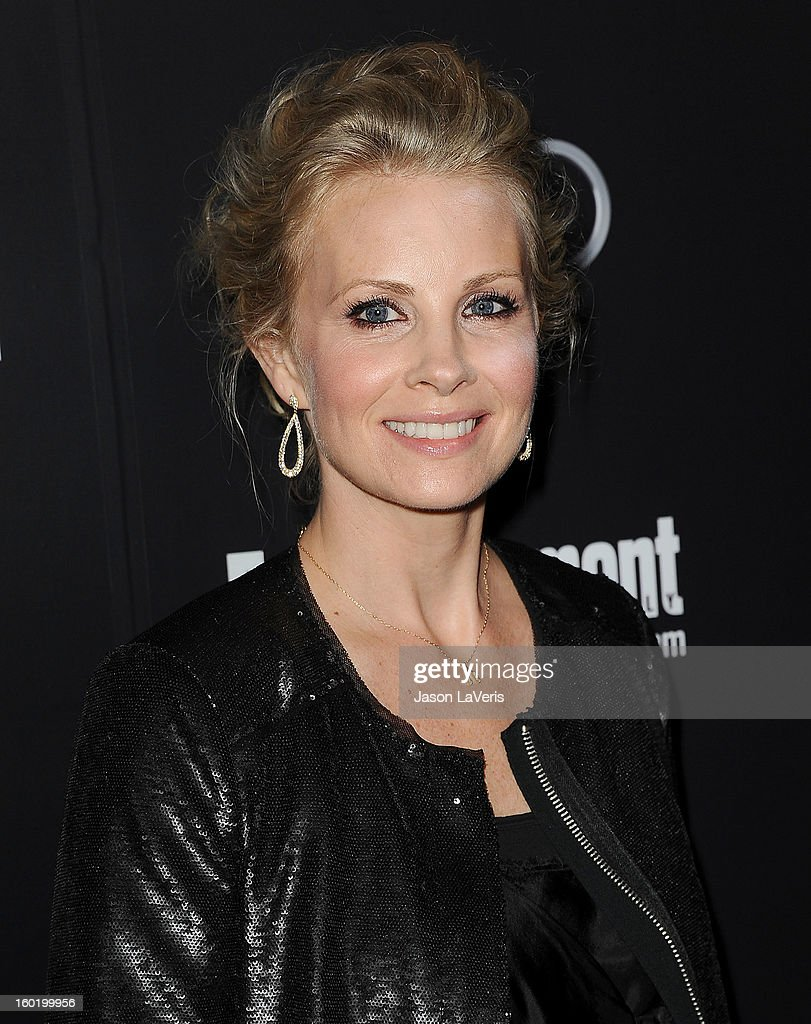 Actress Monica Potter attends the Entertainment Weekly Screen Actors Guild Awards pre-party at Chateau Marmont on January 26, 2013 in Los Angeles, California.