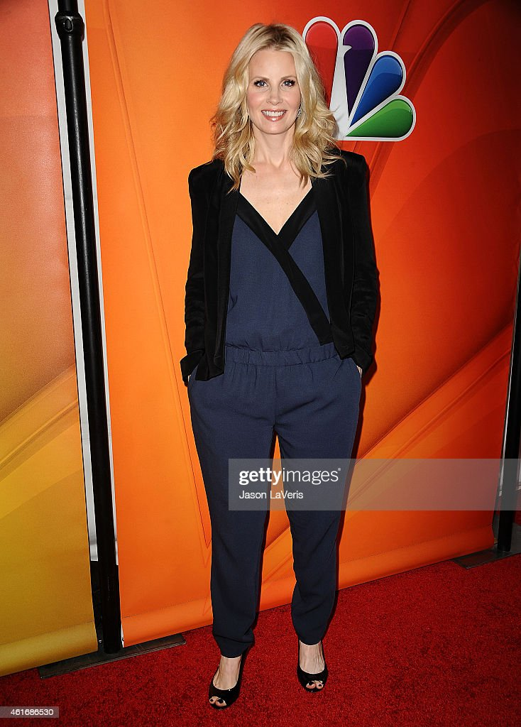 Actress Monica Potter attends the NBCUniversal 2015 press tour at The Langham Huntington Hotel and Spa on January 16, 2015 in Pasadena, California.