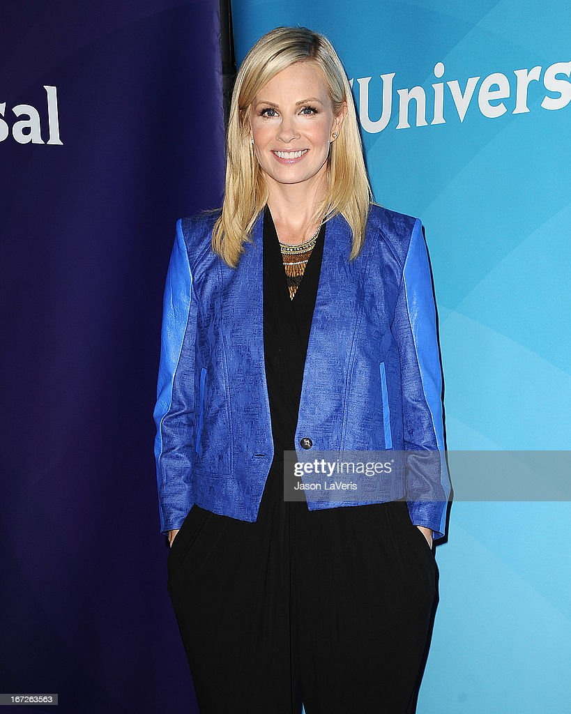Actress Monica Potter attends the NBCUniversal summer press day at The Langham Huntington Hotel and Spa on April 22, 2013 in Pasadena, California.