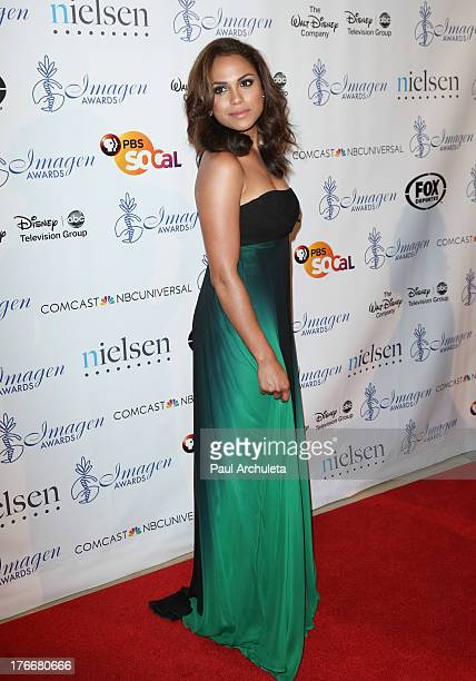 Actress Monica Raymund attends the 28th annual Imagen Awards at The Beverly Hilton Hotel on August 16 2013 in Beverly Hills California