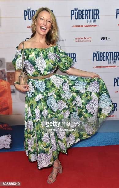 Actress Monika Gruber during the ''Das Pubertier'' premiere at Mathaeser Filmpalast on July 4 2017 in Munich Germany