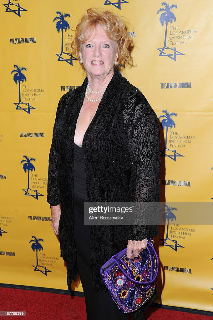Actress Monika Henreid arrives at the 9th Annual Los Angeles Jewish Film Festival Opening Night Gala honoring Carl Reiner with tributes at Saban Theatre on May 1, 2014 in Beverly Hills, California.