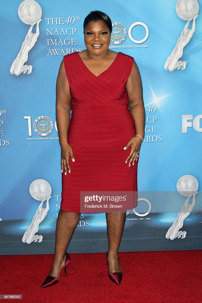 Actress Mo'Nique arrives at the 40th NAACP Image Awards held at the Shrine Auditorium on February 12, 2009 in Los Angeles, California.