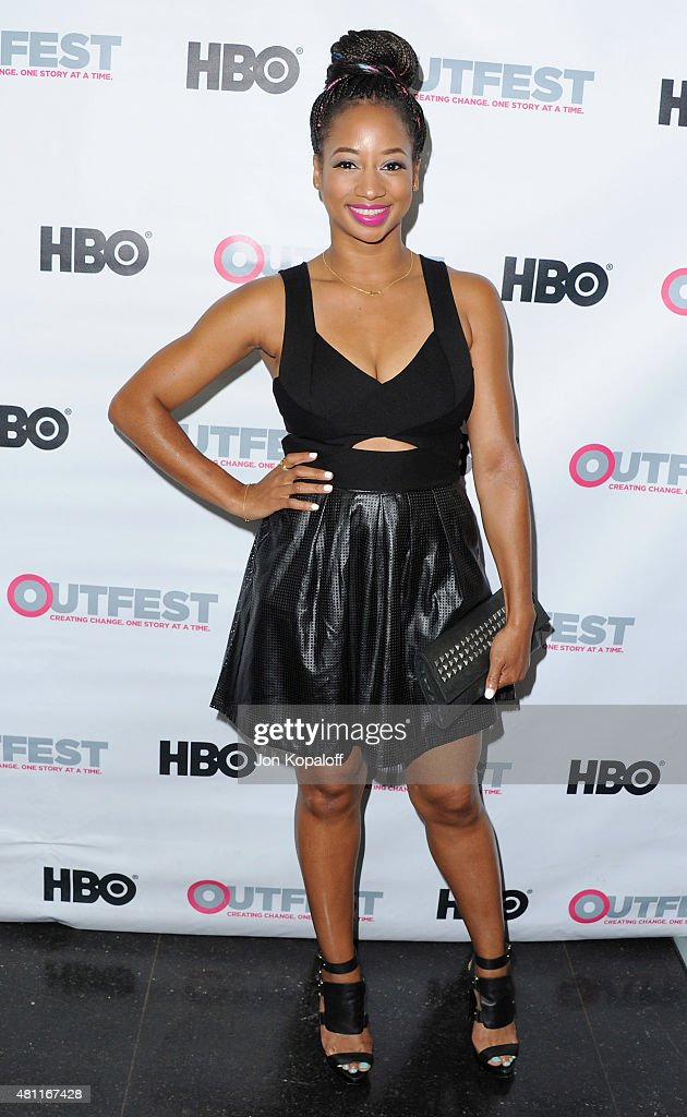 Actress Monique Coleman arrives at the Premiere Of 20th Century Fox's 'Naomi Ely's No Kiss List' At 2015 Outfest's LGBT Los Angeles Film Festival at...