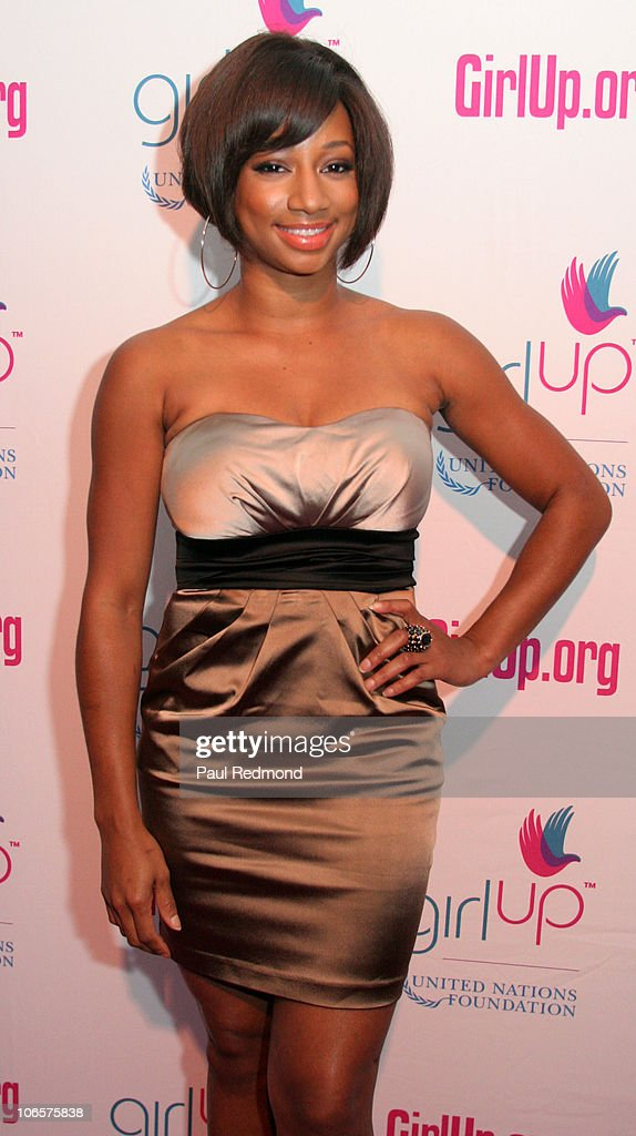Actress Monique Coleman arrives at Variety's Girl Up Campaign Launch on November 4, 2010 in Los Angeles, California.