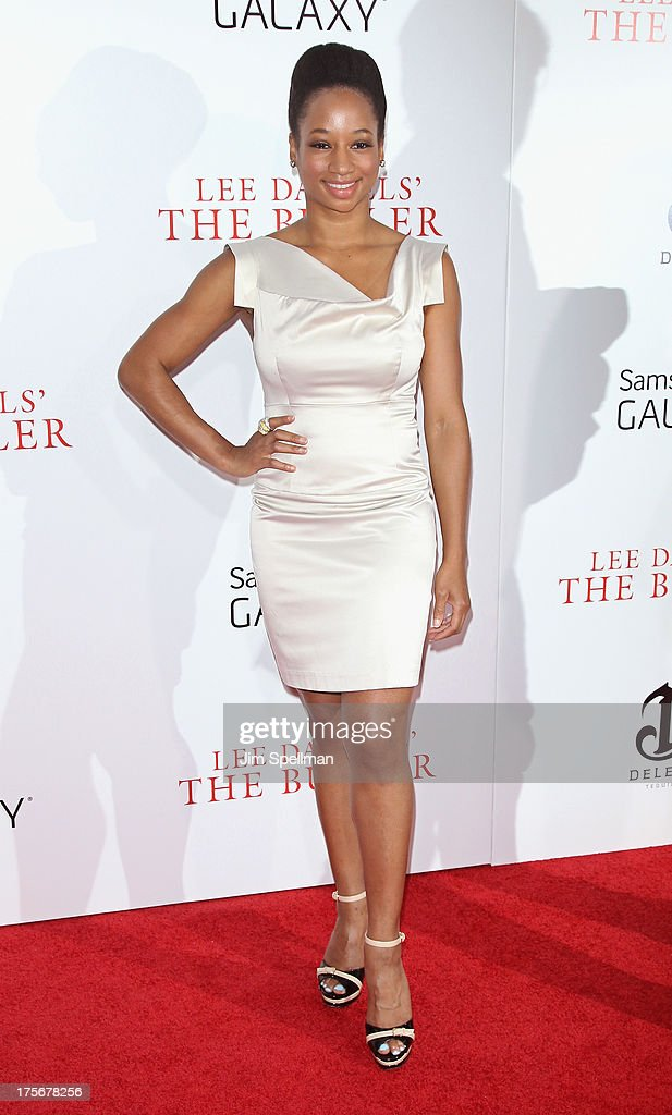 Actress Monique Coleman attends Lee Daniels' 'The Butler' New York Premiere at Ziegfeld Theater on August 5, 2013 in New York City.