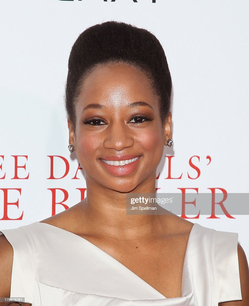 Actress <a gi-track='captionPersonalityLinkClicked' href=/galleries/search?phrase=Monique+Coleman&family=editorial&specificpeople=614618 ng-click='$event.stopPropagation()'>Monique Coleman</a> attends Lee Daniels' 'The Butler' New York Premiere at Ziegfeld Theater on August 5, 2013 in New York City.