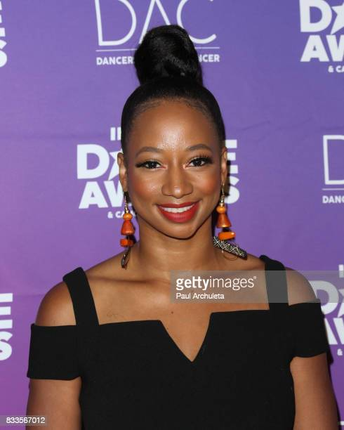 Actress Monique Coleman attends the 2017 Industry Dance Awards and Cancer Benefit show at Avalon on August 16 2017 in Hollywood California