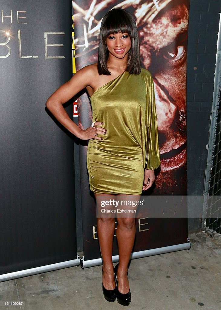 Actress Monique Coleman attends 'The Bible Experience' Opening Night Gala at The Bible Experience on March 19, 2013 in New York City.