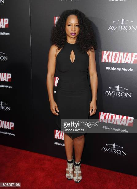 Actress Monique Coleman attends the premiere of 'Kidnap' at ArcLight Hollywood on July 31 2017 in Hollywood California