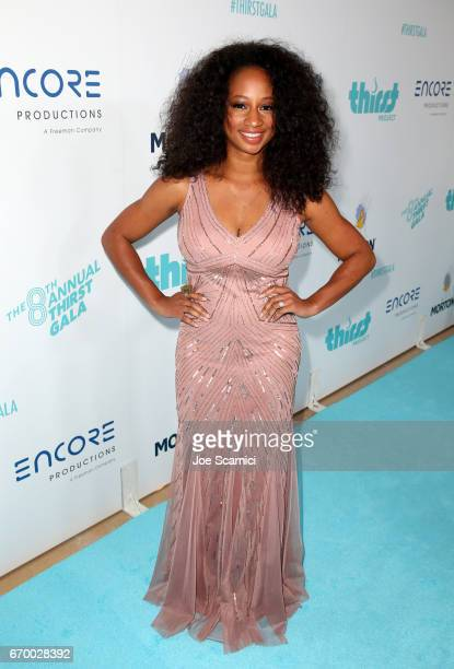 Actress Monique Coleman attends the Thirst Project's 8th Annual thirst Gala at Beverly Hills Hotel on April 18 2017 in Beverly Hills California