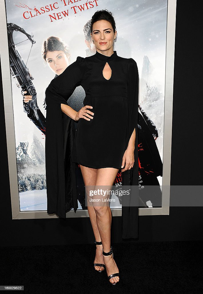 Actress Monique Ganderton attends the premiere of 'Hansel & Gretel: Witch Hunters' at TCL Chinese Theatre on January 24, 2013 in Hollywood, California.