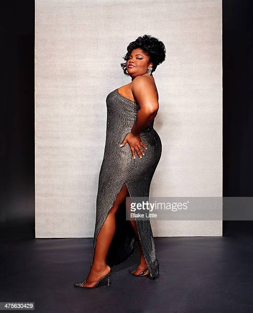 Actress Mo'Nique is photographed for Simon Schuster on April 1 2003 in Los Angeles California