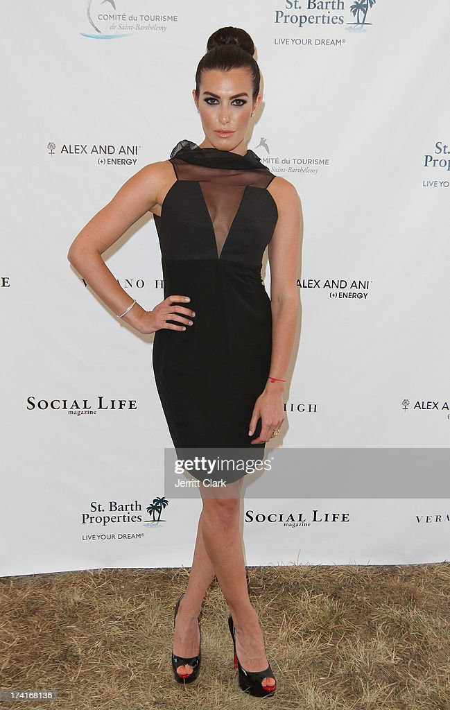 Actress Monique Zordan attends the 2nd Annual St. Barth Hamptons Gala hosted by Social Life Magazine on July 20, 2013 in Bridgehampton, New York.