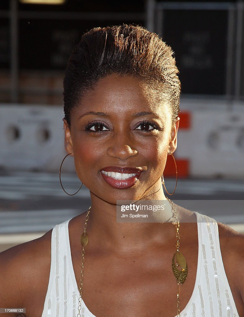 Actress Montego Glover attends BAMcinemaFest 2013 And The Cinema Society Host The Opening Night Premiere Of 'Ain't Them Bodies Saints' at BAM Harvey Theater on June 19, 2013 in New York City.
