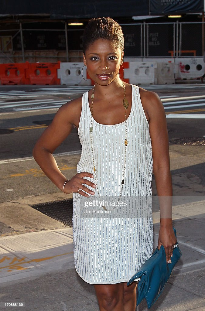Actress <a gi-track='captionPersonalityLinkClicked' href=/galleries/search?phrase=Montego+Glover&family=editorial&specificpeople=2235786 ng-click='$event.stopPropagation()'>Montego Glover</a> attends BAMcinemaFest 2013 And The Cinema Society Host The Opening Night Premiere Of 'Ain't Them Bodies Saints' at BAM Harvey Theater on June 19, 2013 in New York City.