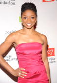 Actress Montego Glover attends Rosie's Broadway Extravaganza at the Palace Theatre on November 23 2009 in New York City