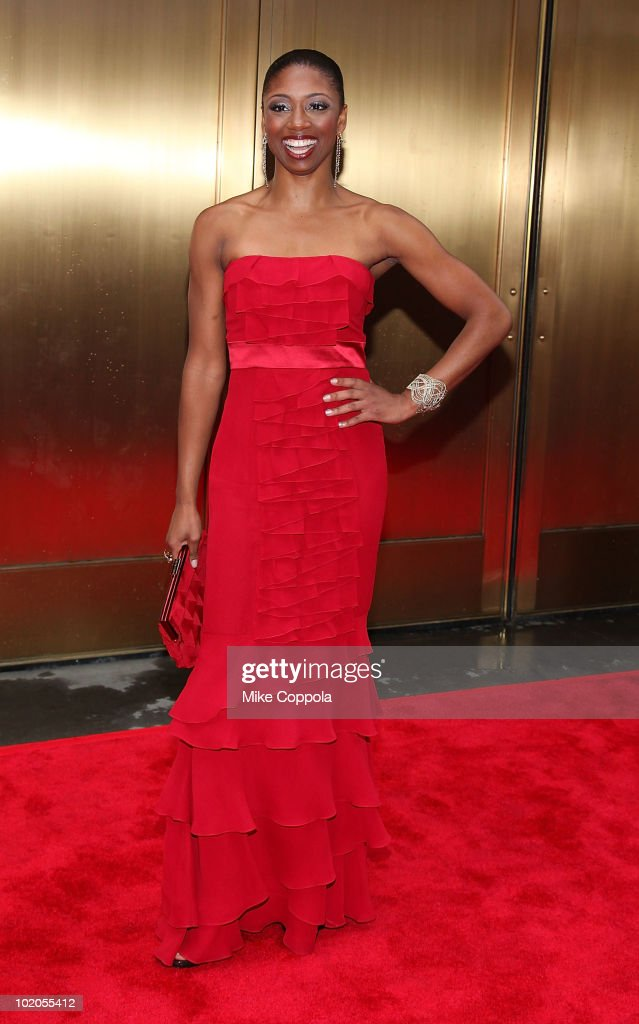 Actress Montego Glover attends the 64th Annual Tony Awards at Radio City Music Hall on June 13, 2010 in New York City.