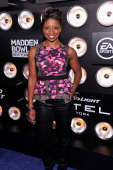 Actress Montego Glover attends the Bud Light Madden Bowl at The Bud Light Hotel on January 30 2014 in New York City
