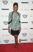 Actress Montego Glover attends the New York premiere of 'Mr Holmes' at Museum of Modern Art on July 13 2015 in New York City