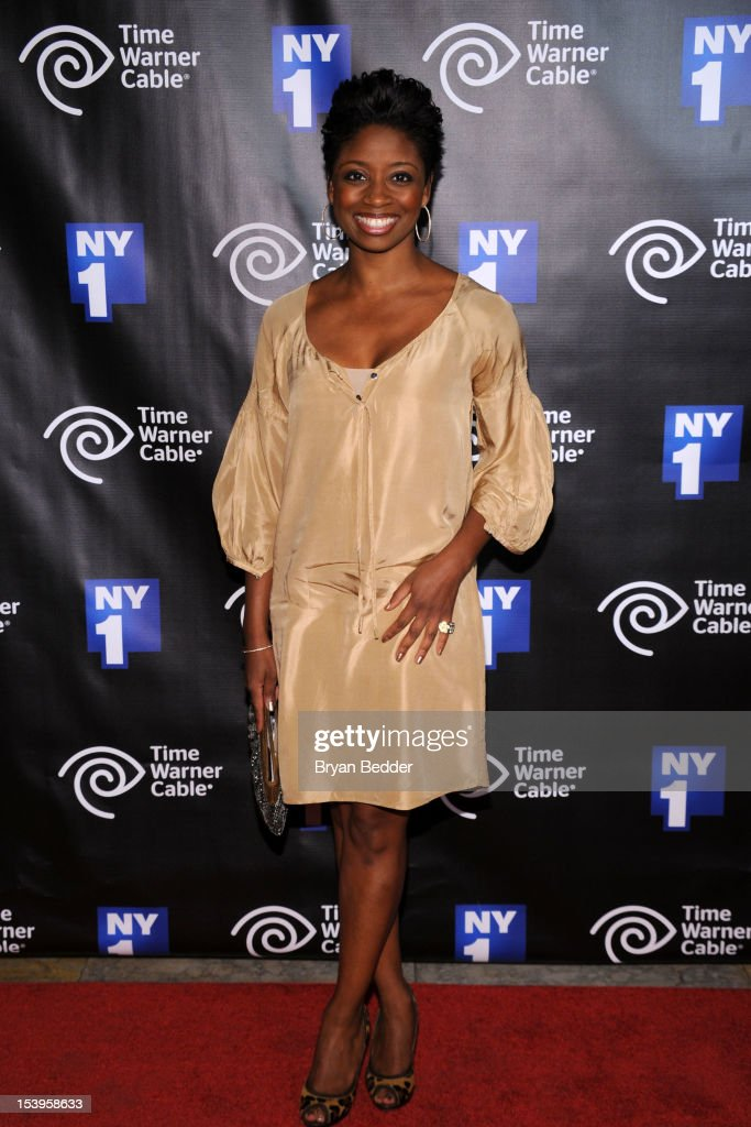 Actress Montego Glover attends the NY1 20th Anniversary party, in celebration of two decades of the New York City news channel at New York Public Library on October 11, 2012 in New York City.