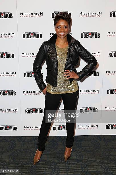 Actress Montego Glover attends the 'Rob The Mob' special screening at Sunshine Landmark on March 9 2014 in New York City