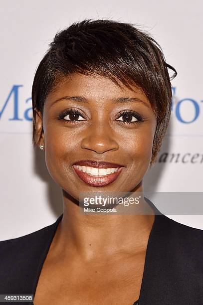 Actress Montego Glover attends the TJ Martell Foundation's 11th annual New York World Tour of Wine on November 20 2014 in New York City