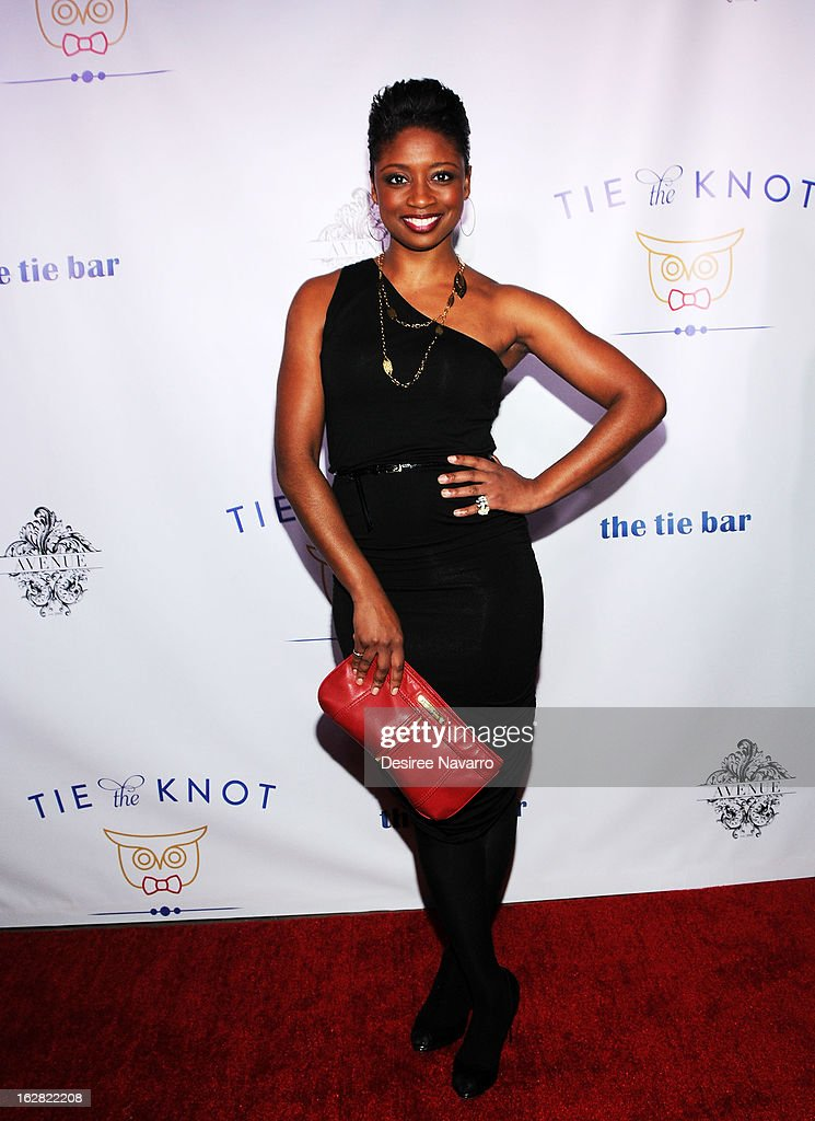Actress Montego Glover attends Tie The Knot NYC at Avenue on February 27, 2013 in New York City.