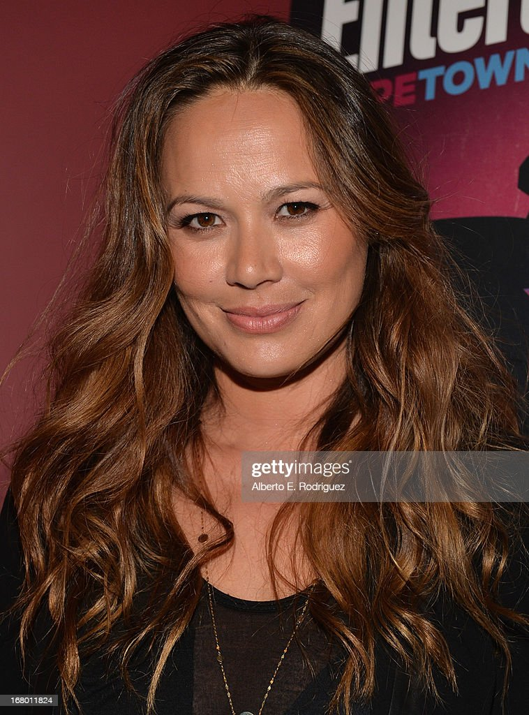 Actress Moon Bloodgood attends Entertainment Weekly's CapeTown Film Festival presented by The American Cinematheque and sponsored by TNT's 'Falling...